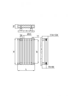Arpa23-2-pion-rysunek-techniczny