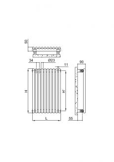 Arpa23-pion-rysunek-techniczny