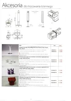 Akcesoria - montowanie ścienne